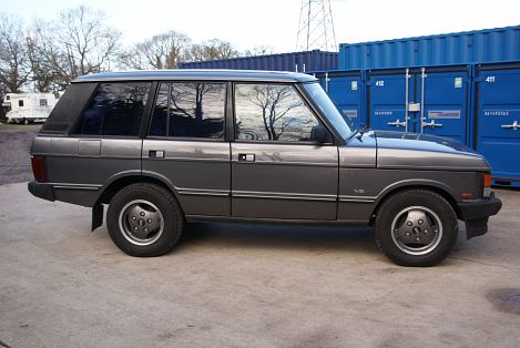 Range Rover Vogue Se Hire A Classic Vintage British Car